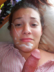 Amateur facial cumshot compilation with the cutest young cocksuckers